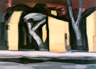 A Situation in Yellow 1933 - Oscar Bluemner