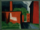 Untitled 1934 - Oscar Bluemner reproduction oil painting