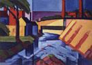 Evening Tones 1911 - Oscar Bluemner