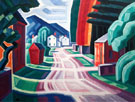 Form and LIght Motif in West New Jersey 1914 - Oscar Bluemner reproduction oil painting