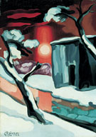 Last Evening of the Year 1929 - Oscar Bluemner reproduction oil painting