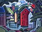 Montville - Oscar Bluemner reproduction oil painting
