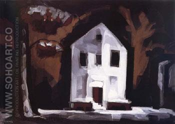 Radiant Night 1932 - Oscar Bluemner reproduction oil painting