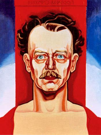Self Portrait 1933 - Oscar Bluemner reproduction oil painting