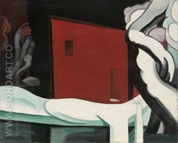 Snow and Glow By 1935 - Oscar Bluemner reproduction oil painting