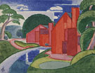 Tars Azlo Flach Soho Fat Mill 1920 - Oscar Bluemner