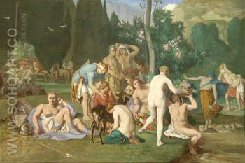 Peace - Pierre Puvis de Chavannes reproduction oil painting