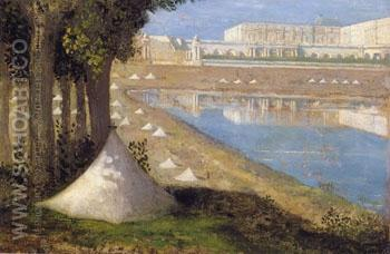 Parc de Versailles - Pierre Puvis de Chavannes reproduction oil painting