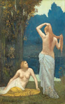 The Bathers - Pierre Puvis de Chavannes