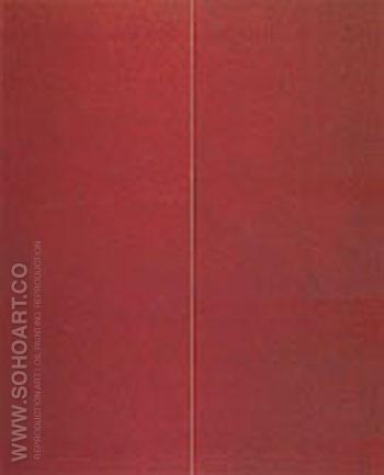 Be 1 1949 - Barnett Newman reproduction oil painting