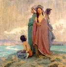 A Vision of the Past 1913 - E Irving Couse reproduction oil painting