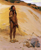 An Indian Hunter 1897 - E Irving Couse