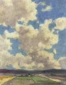 Clouds Over Taos Valley 1911 - E Irving Couse