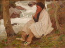 Contemplation - E Irving Couse