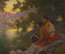 Evening Reverie 1911 - E Irving Couse