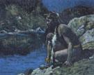 Evening Solitude 1925 - E Irving Couse