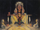 Offering to the Great Spirit - E Irving Couse