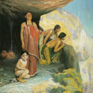 Sun Worshipers c1919 - E Irving Couse reproduction oil painting