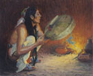 The Chant - E Irving Couse reproduction oil painting