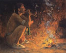 The Smoker - E Irving Couse