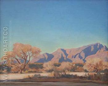 Arizona Autumn - Maynard Dixon reproduction oil painting