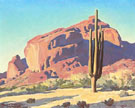 Camel Back Mountain 1940 - Maynard Dixon