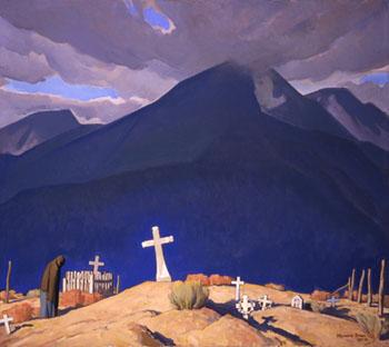 Campo Santo - Maynard Dixon reproduction oil painting