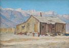 Chong Ranch - Maynard Dixon reproduction oil painting