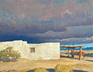 December Sky 1940 - Maynard Dixon reproduction oil painting