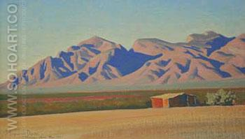 Empty Afternoon - Maynard Dixon reproduction oil painting