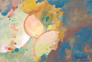 Celestial Indecision Gastronomic Rhapsody c1934 - Maynard Dixon reproduction oil painting