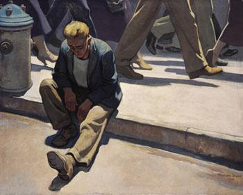Forgotten Man - Maynard Dixon reproduction oil painting
