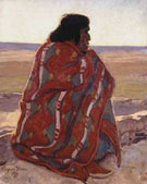 Hopi Man 1923 - Maynard Dixon reproduction oil painting