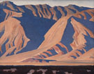 Inyo Mountains - Maynard Dixon reproduction oil painting