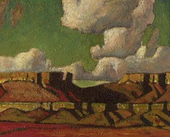 Lalla After Remberanc - Maynard Dixon reproduction oil painting