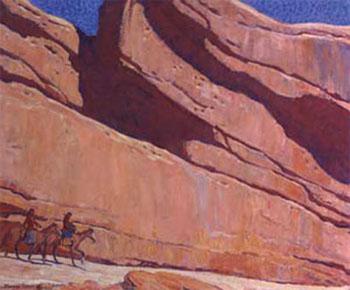 Ledge of Sunland 1922 - Maynard Dixon reproduction oil painting