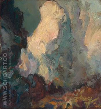 Life in Limb - Maynard Dixon reproduction oil painting