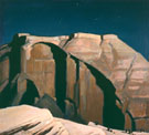 Moonlight Over Zion - Maynard Dixon reproduction oil painting