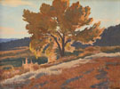 October Leafage - Maynard Dixon