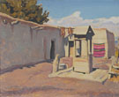 Old Patio New Mexico September 1931 - Maynard Dixon