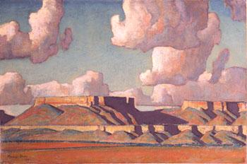 Remembrance of the Tusayan - Maynard Dixon reproduction oil painting
