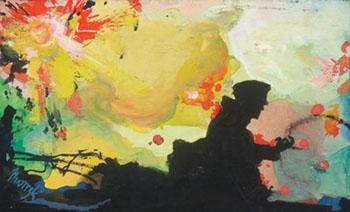 Russian War - Maynard Dixon reproduction oil painting