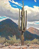 Saguaro - Maynard Dixon