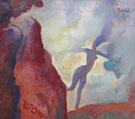 Wow c1921 - Maynard Dixon reproduction oil painting