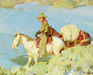 Hunters Return - W Herbert Dunton reproduction oil painting