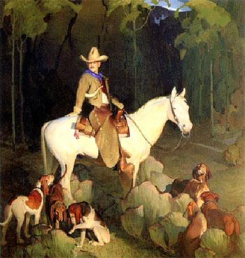 McMullin Guide - W Herbert Dunton reproduction oil painting