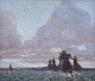 The End of the Day 1915 - W Herbert Dunton reproduction oil painting