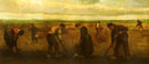 Farmers Planting Potatoes - Vincent van Gogh
