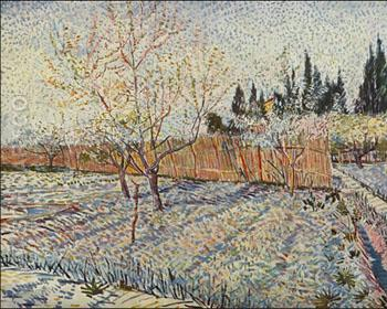 Field on Winter - Vincent van Gogh reproduction oil painting