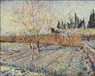 Field on Winter - Vincent van Gogh